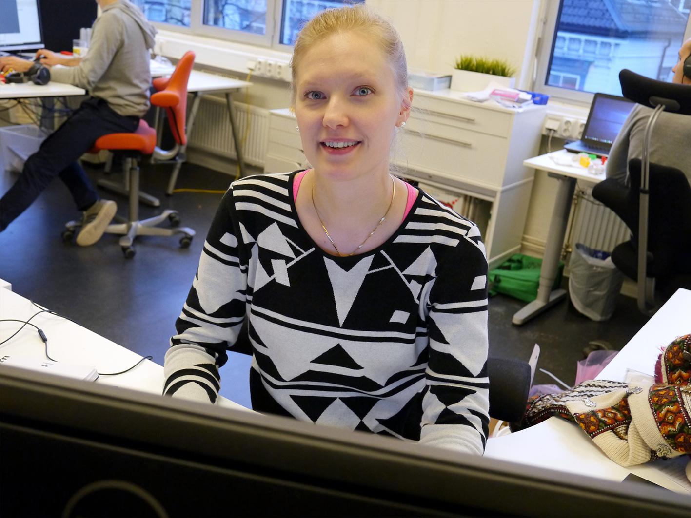 Øker kompetansen. Hanna Poranen er ett av de ferskeste tilskuddene til Inventas.