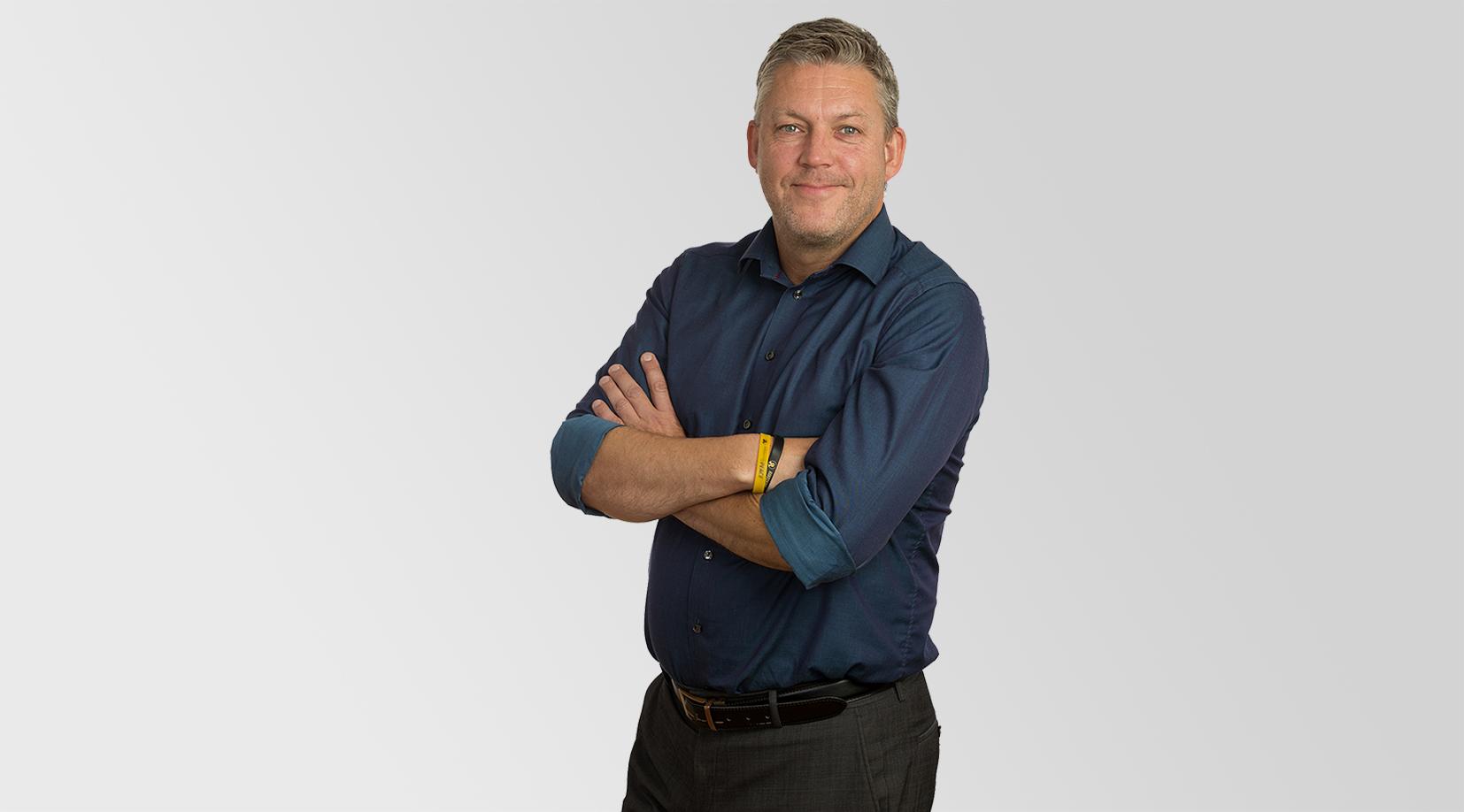 Christian Haugen er næringsutvikler i Næringsforeningen i Trondheimsregionen. Foto: Gry Karin Stimo