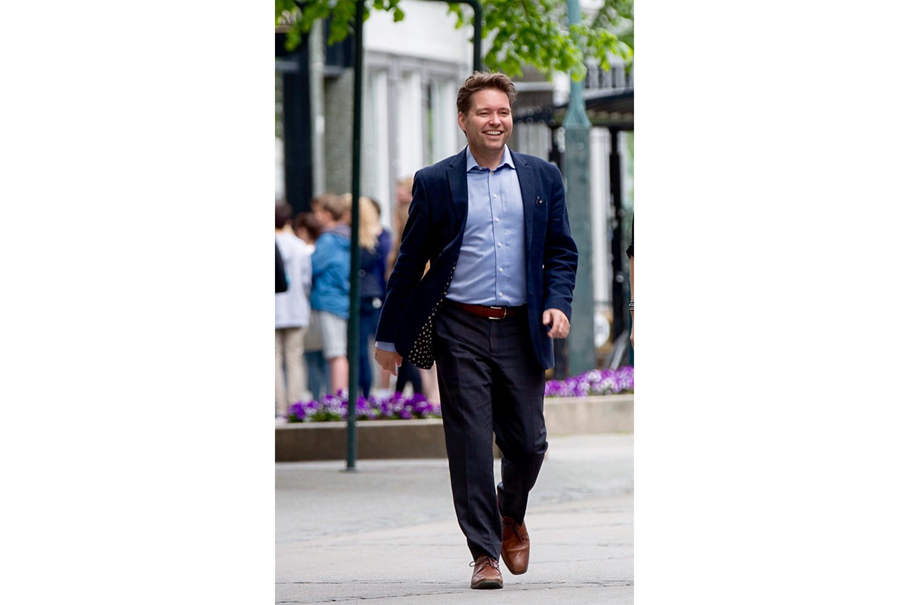 Stig Hillestad. Reiselivsdirektør i Visit Trondheim. Av: Kenneth Stoltz