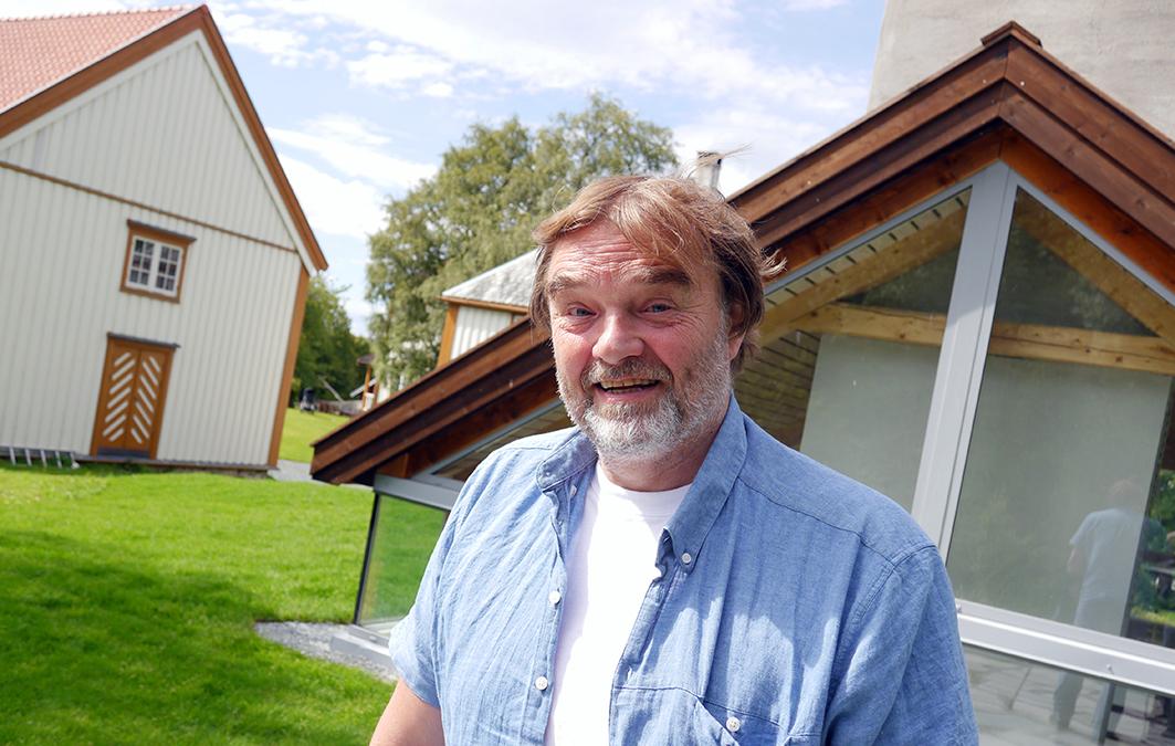 Frithjof Riis, administrerende direktør og eneaksjonær i familiekonsernet Andreas L. Riis (ALR), har grep om markedet for glass i Norge. Tekst og foto: Jan-Are Hansen