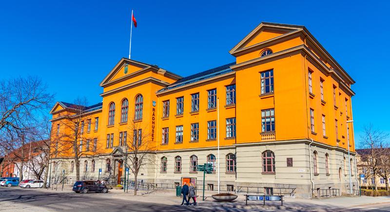 Trondheim rådhus. Foto: Shutterstock / trabantos