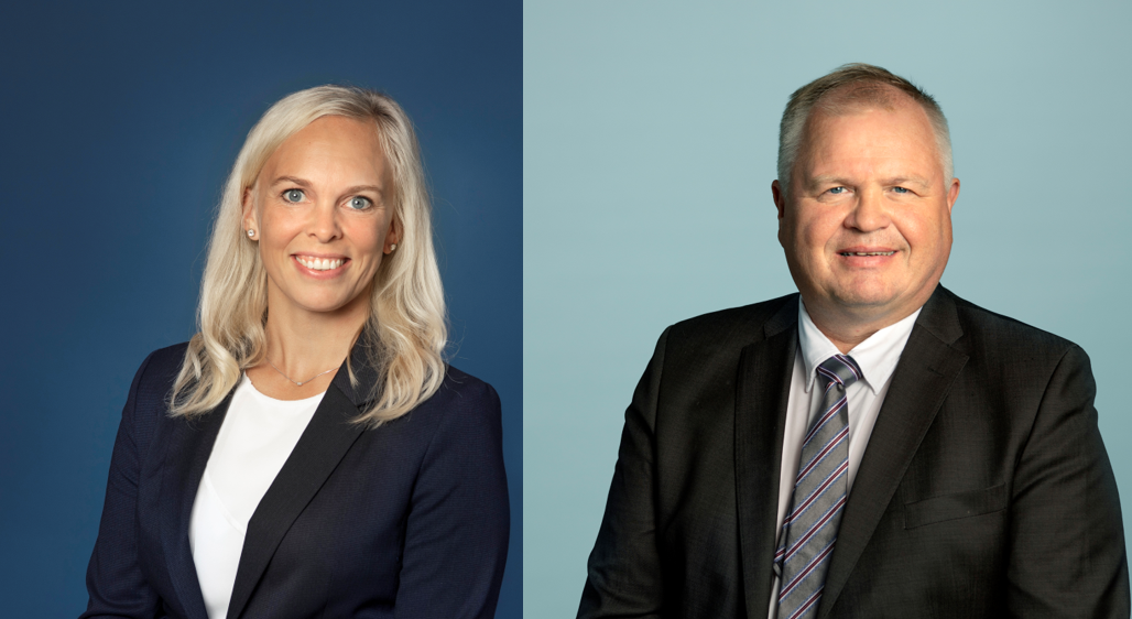 Advokat Line Svinndal Lorentsen og advokat og partner Knut Dybvik i Simonsen Vogt Wiig Trondheim