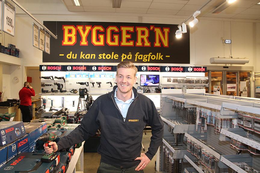 Ingen utpreget handyman. Stadig flere nordmenn får andre til å pusse opp for seg, forteller administrerende direktør Arne Reinertsen i E.A. Smith.