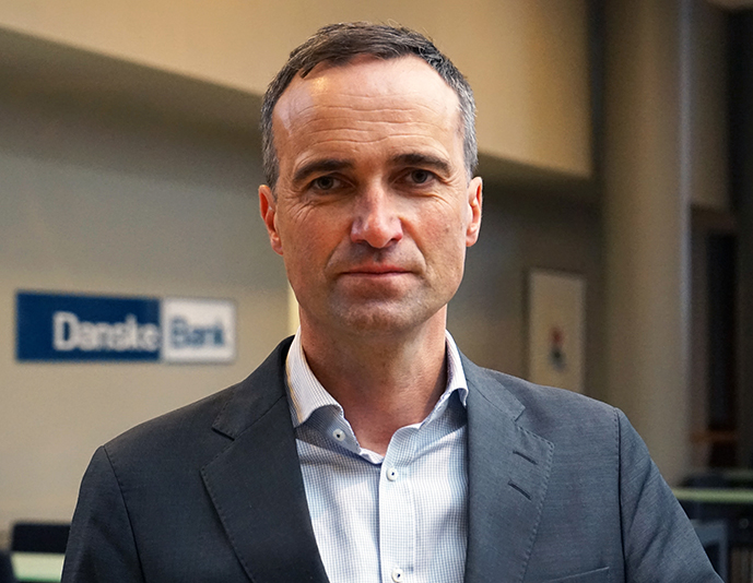Terje Strickert Samdal. Direktør Business Banking/Finanssenter Trondheim, Danske Bank.