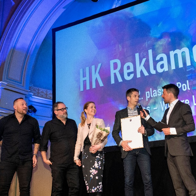 HK kåret til Årets Byrå tre år på rad