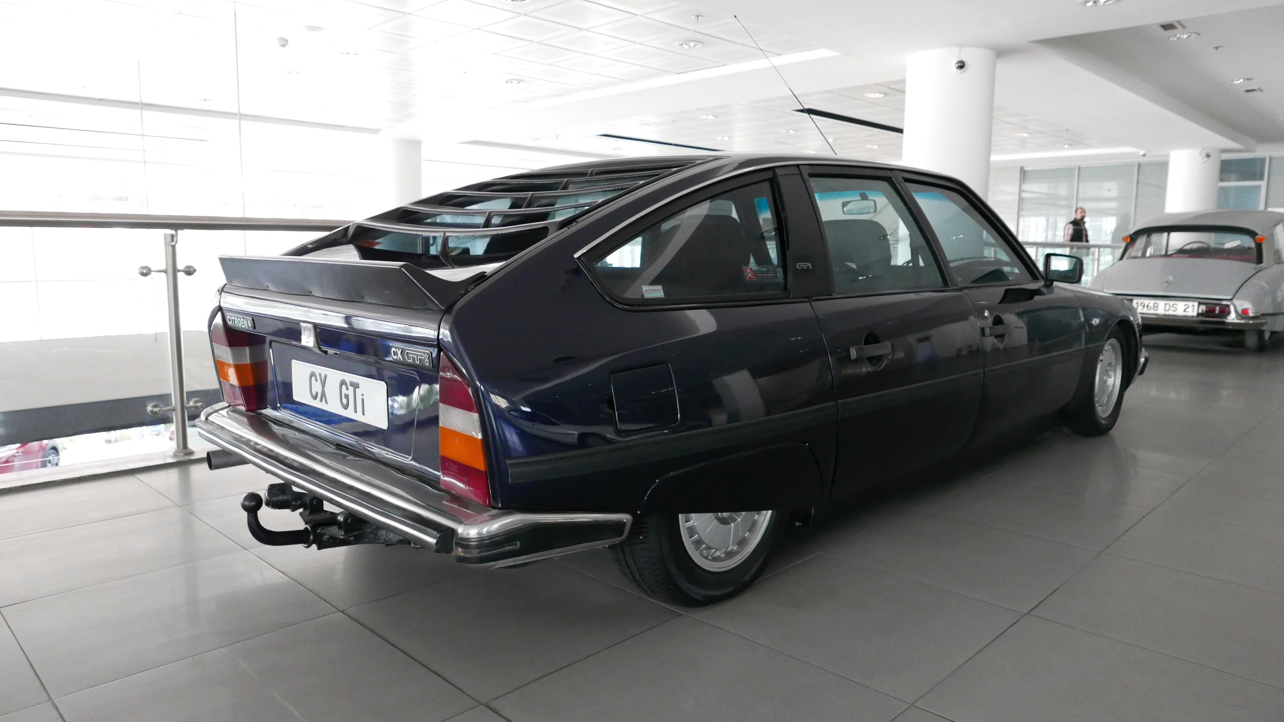 Under huden på Citroën CX