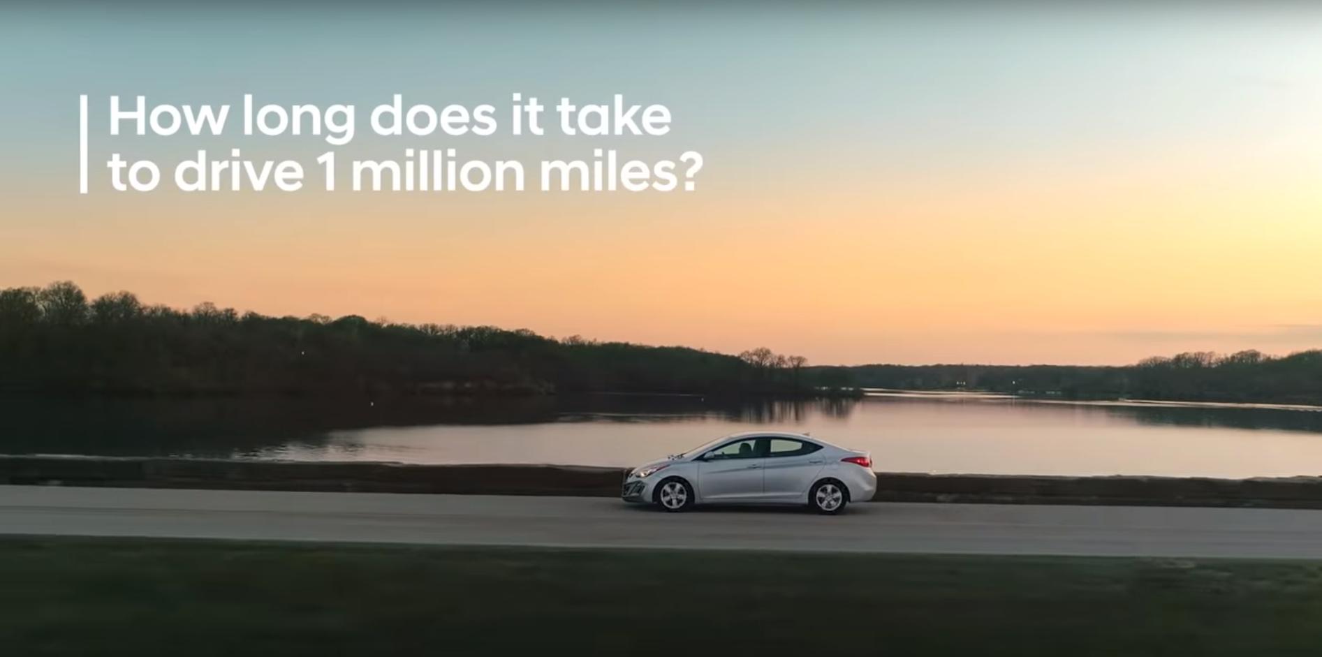 Farrah kjørte 1,6 millioner km på 5 år!