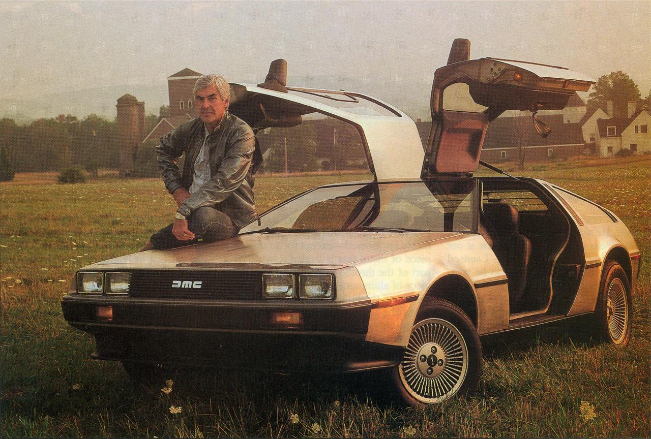 John DeLorean fikk i det minste laget sin sportsbil. Men det kostet mye for mange involverte.
