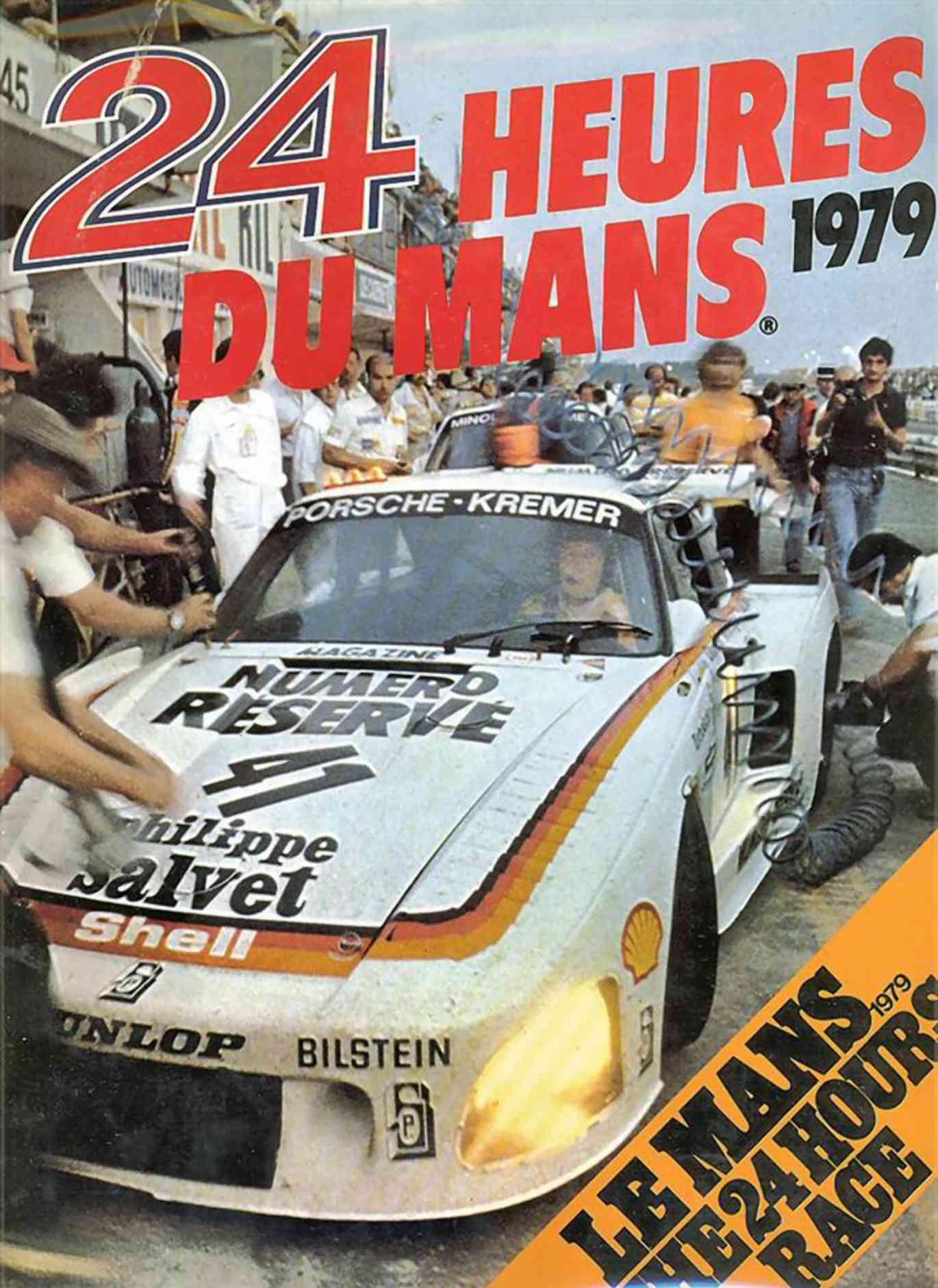 Kremer K3 bilen som vant Le Mans i 1979.