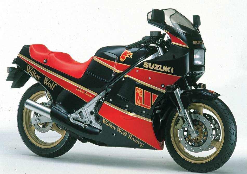 Suzuki RG250 Gamma Walter Wolf