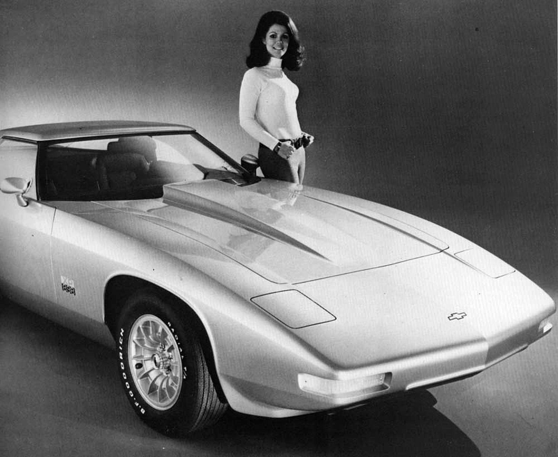 Chevrolet Vega ble faktisk til en sportsbil, i form av konseptet Chevrolet XP-898 fra 1973.