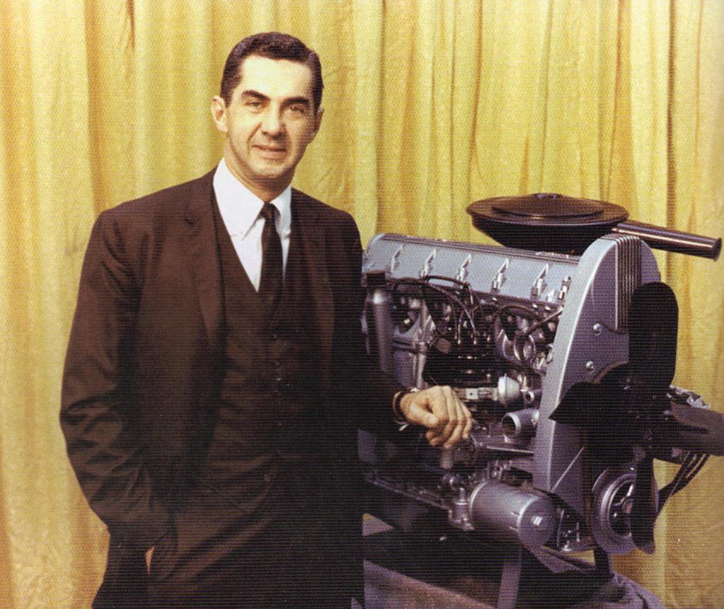 DeLorean var en dyktig ingeniør, og var involvert i flere motorkonstruksjoner, som Pontiacs OHC (Overhead Cam) rekkesekser til modellåret 1966.