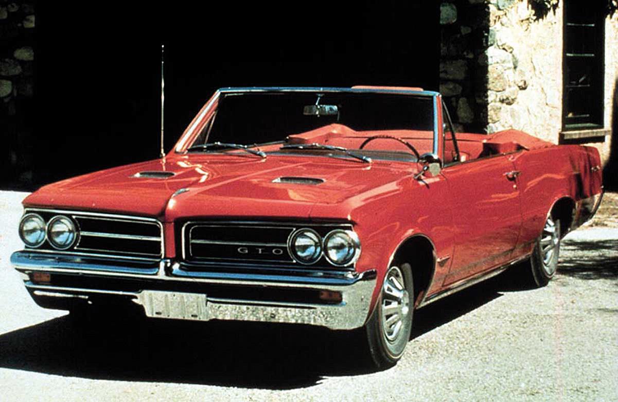 1964 Pontiac GTO var på mange måter den første muskelbilen, noe John DeLorean gjerne tok på seg all æren for.