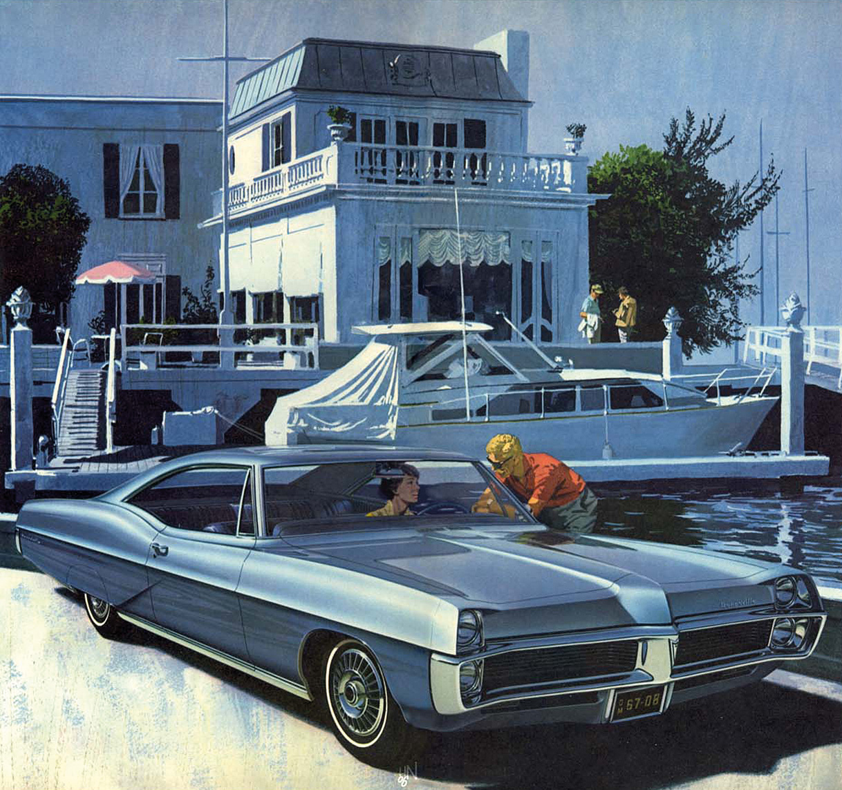 Pontiac hadde et sterkt modellutvalg på slutten av sekstitallet, her en 1967 Bonneville.