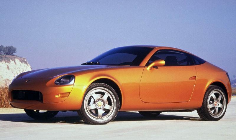 Nissan 240z concept.