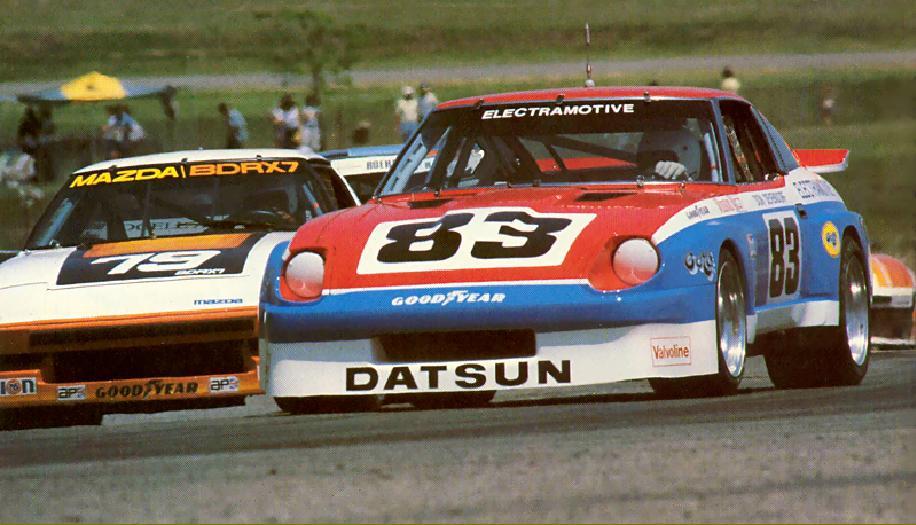 Med sin 280zx vant Electramotive 9 av 13 løp i IMSA i 1979. I 1983 produserte bilen nesten 700 hestekrefter.