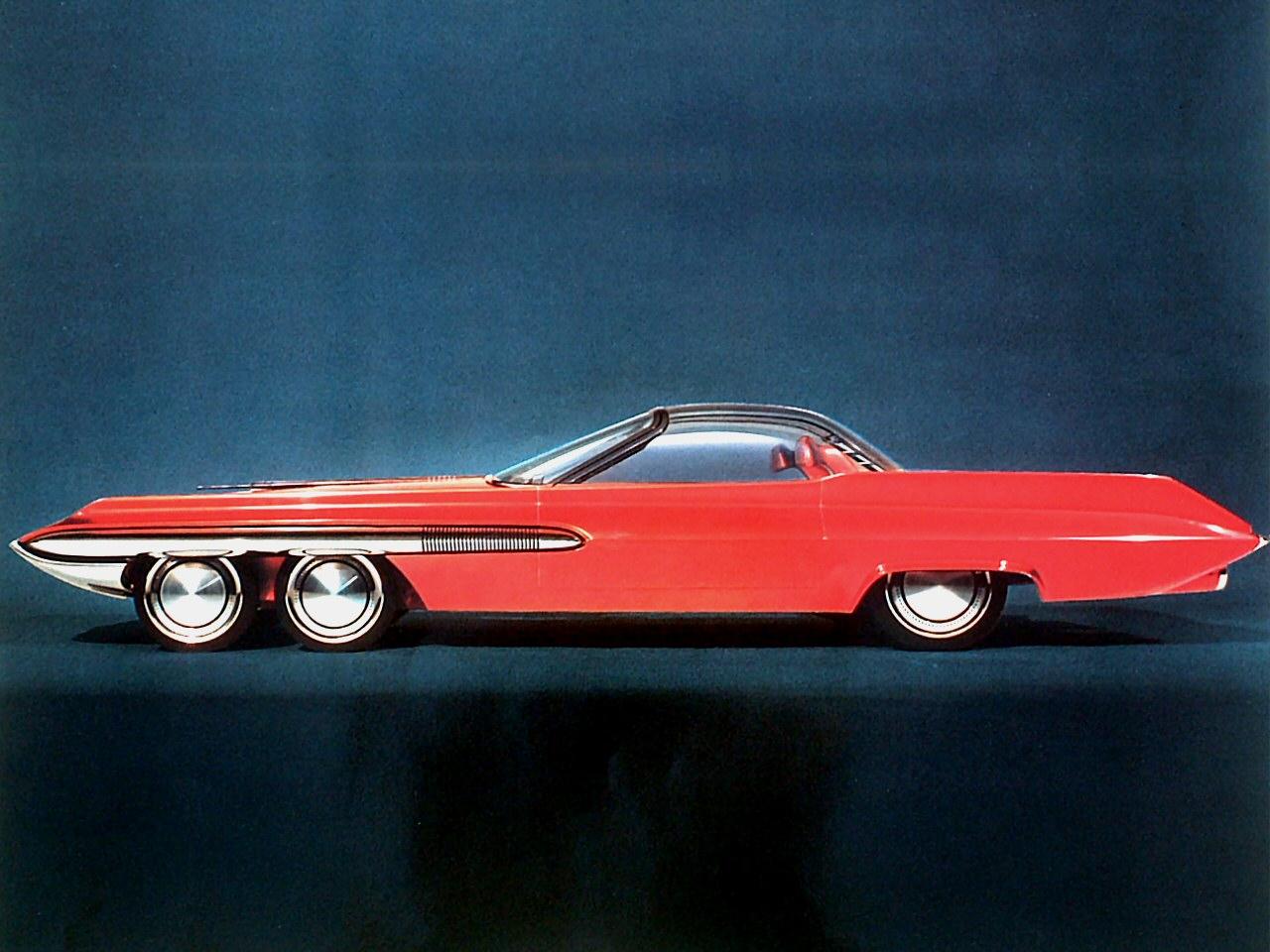 Ford Seattle-ite XXI var en konseptbil fra 1962 som ble bygget i 3/8 skala. Den hadde fire framhjul og to bakhjul, uten at det ble noe stort oppstyr av den grunn.