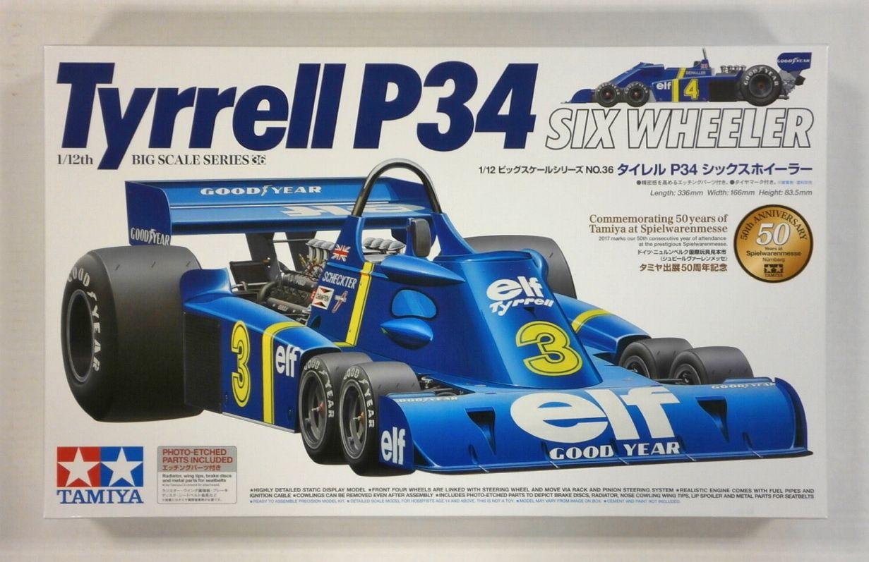 Bilen som fikk Robert Jankel til å bygge Panther Six. Den sensasjonelle Formel 1-bilen Tyrrell P34, som Jody Scheckter ble nummer tre sammenlagt med i 1976-sesongen.