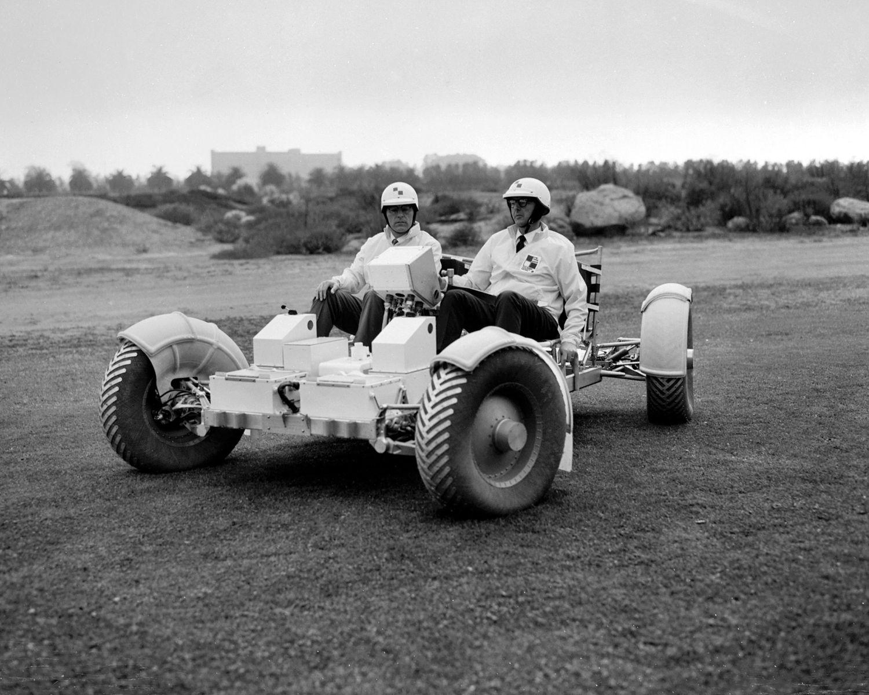 En av de siste prototypene under testing av GM sine folk, før bilen var helt ferdig i 1971.