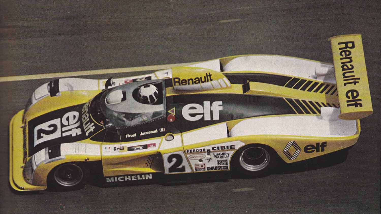 Didier Pironi på vei til seier i Le Mans 1978.