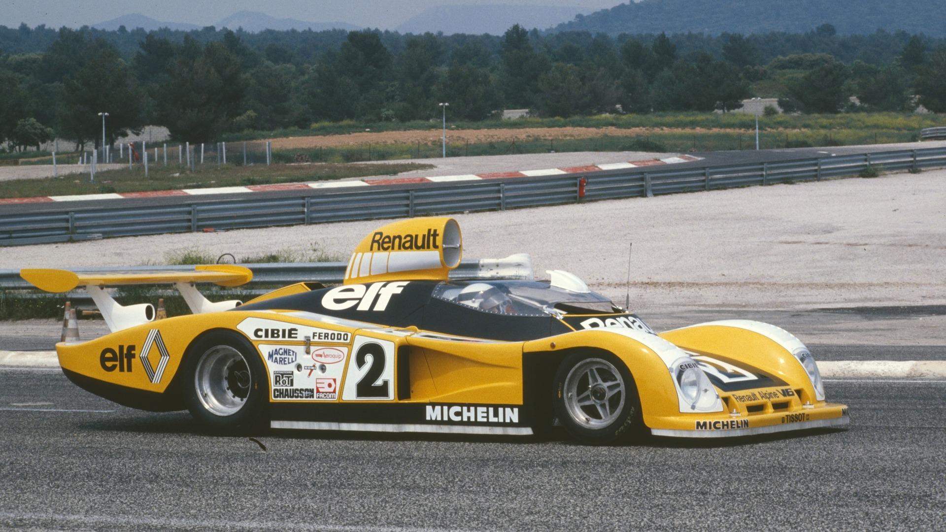 Jean-Pierre Jaussaud i bilen som kom til å vinne Le Mans 1978.