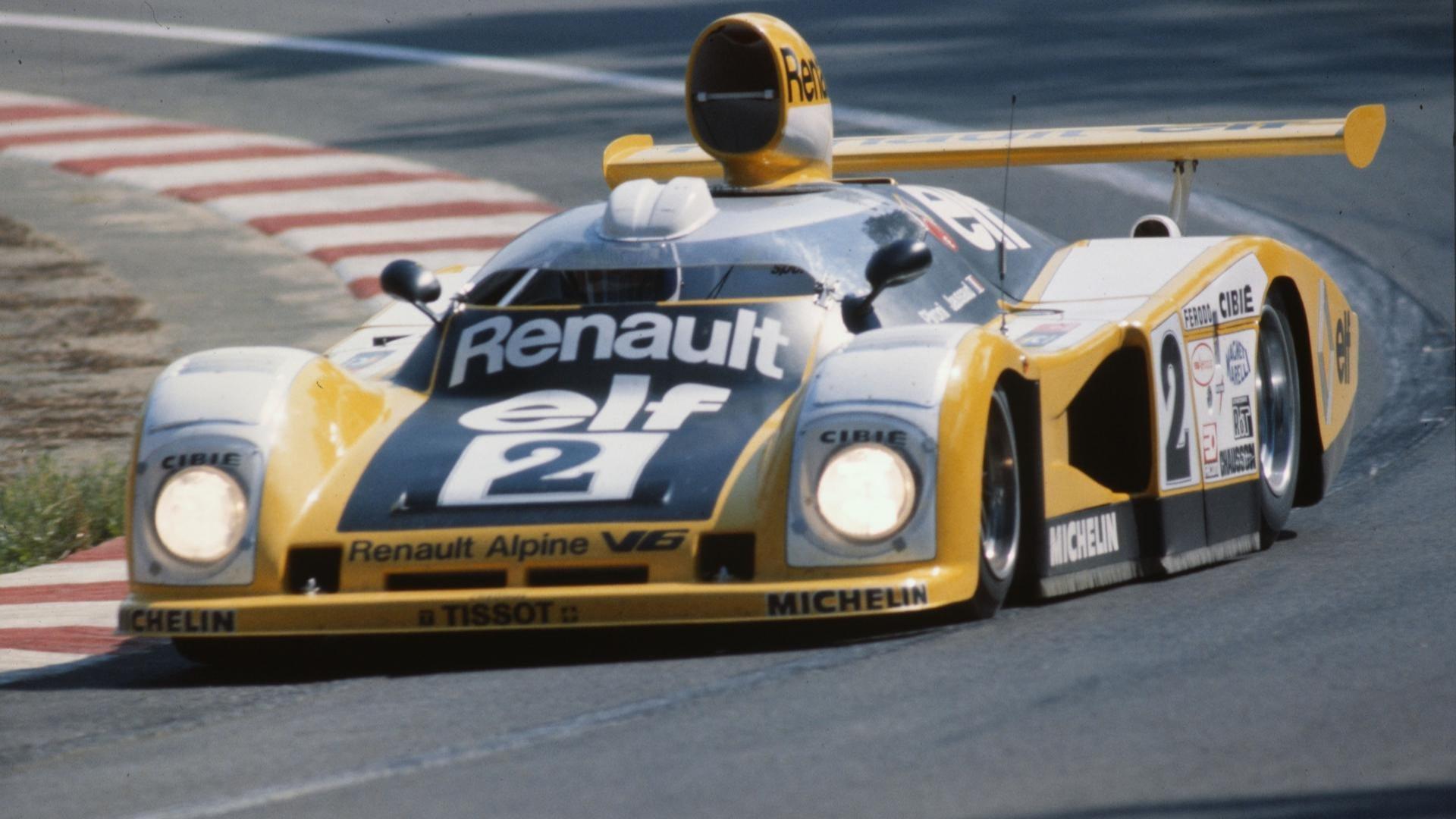 Renault-Alpine A442B på vei mot den ultimate triumfen: Seier på Le Mans!