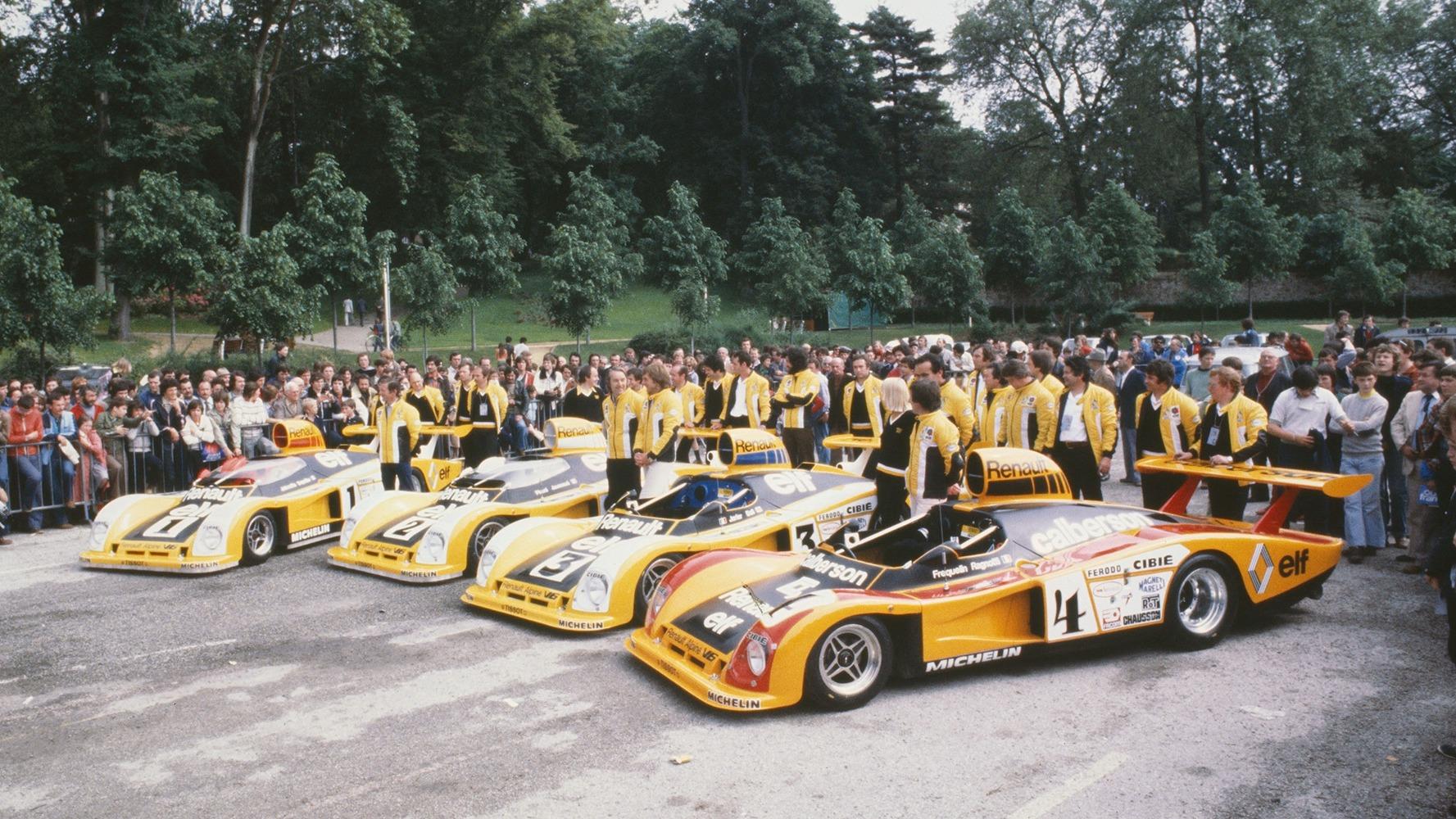 Renault satset stort for å vinne Le Mans i 1978, noe dette bildet beviser.