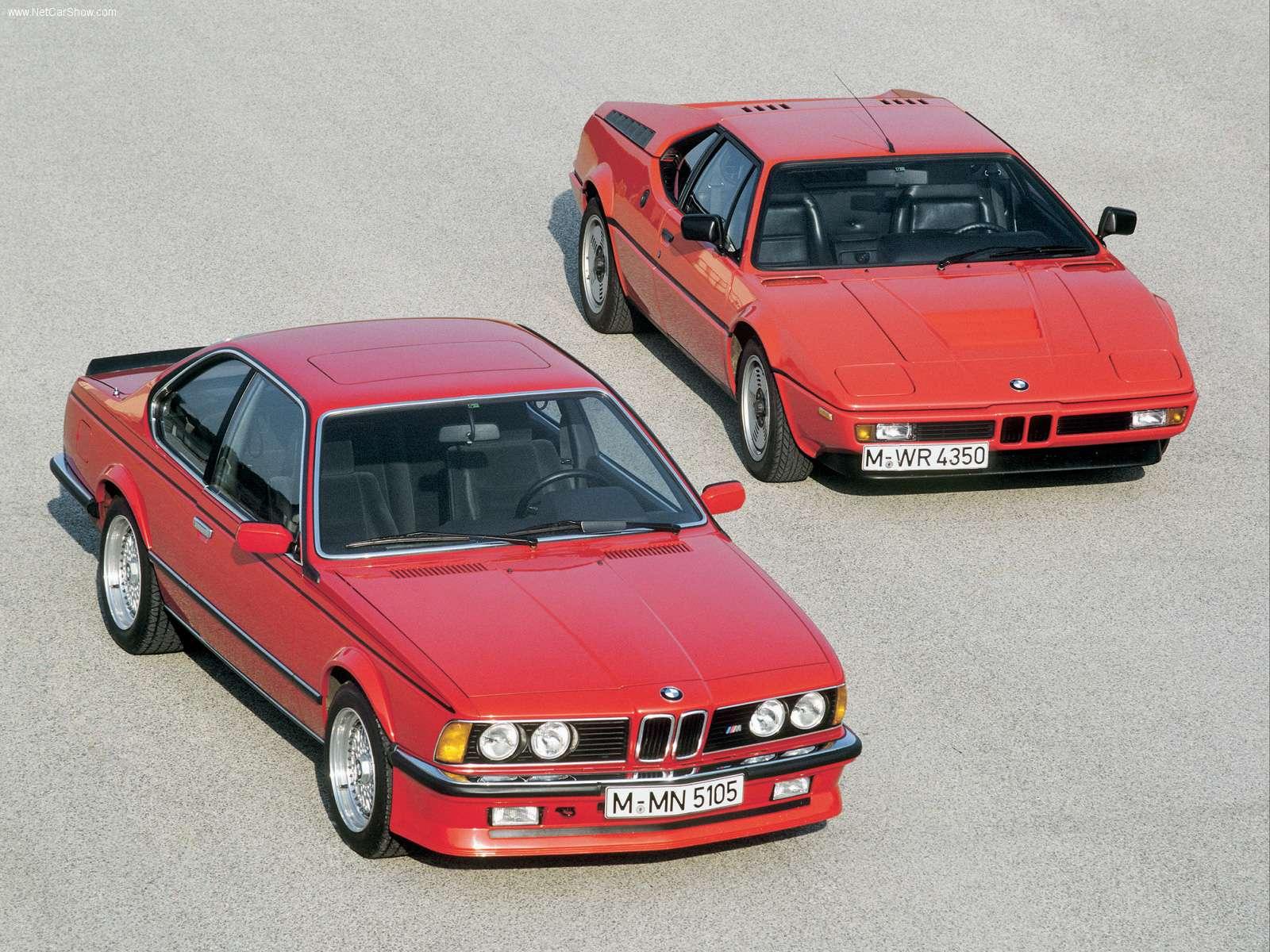 M635 CSi fikk motoren fra legendariske M1.
