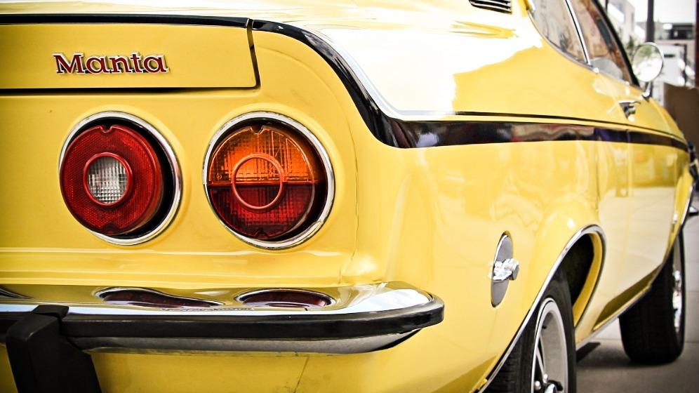 Opel Manta A - Europas første rimelige «muskelbil»