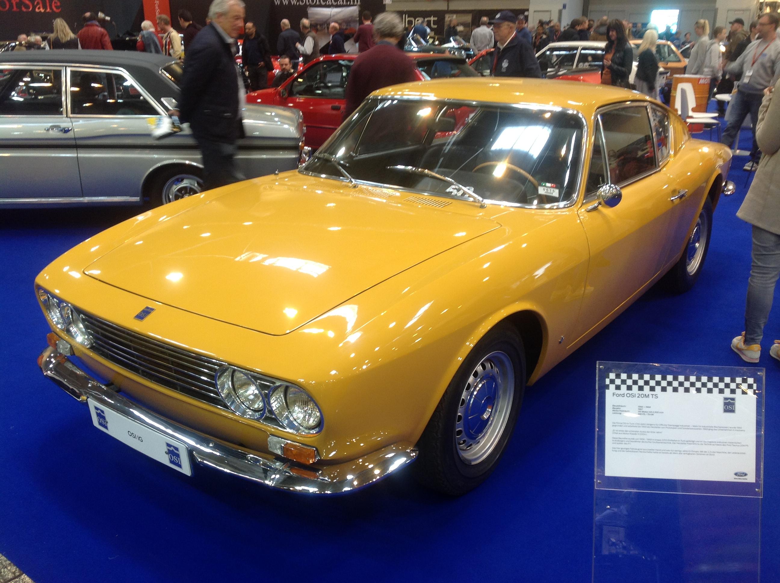 En oppusset versjon av Ford 20M TS. Disse ble det kun laget omtrent 2200 stykker av.