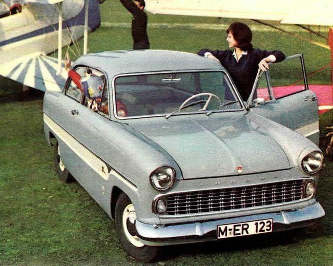 I 1959 fikk småbilene hos Taunus det som regnes som sin andregenerasjon.