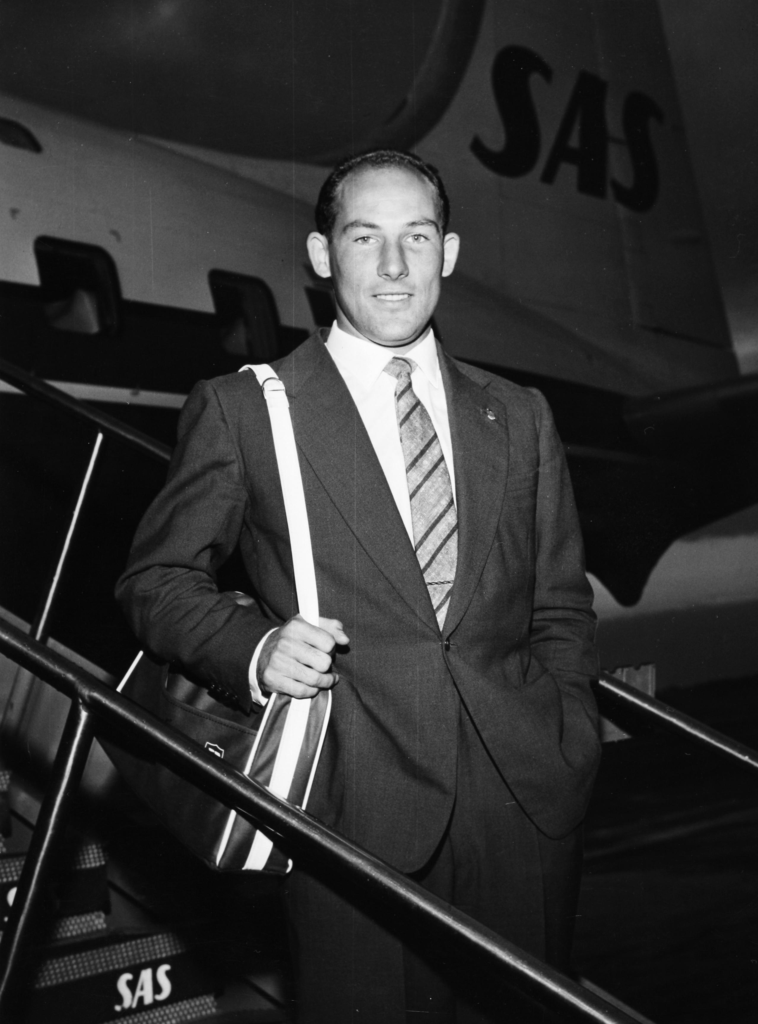 Verdens ubestridt beste racerfører fra 1958 til 1961: Stirling Moss. Foto: Daimler AG