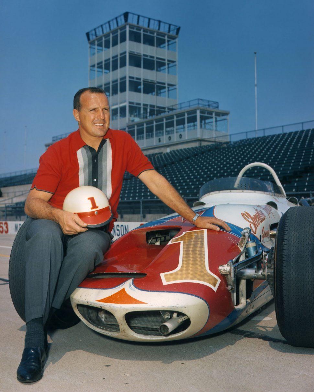I 1964 vant Foyt 10 av 13 løp i Indycar-serien, og tok også hjem sin andre seier i Indy 500. Foto: Indianapolis Motor Speedway