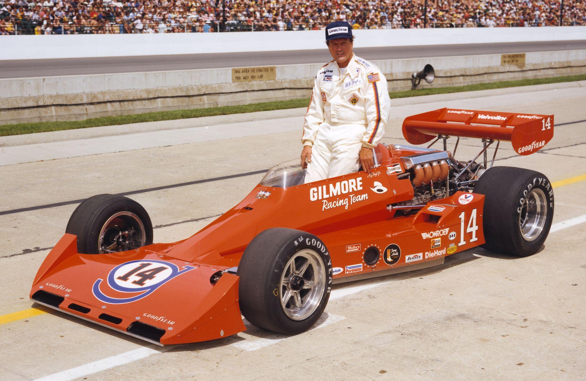I 1977 tok Foyt sin fjerde og siste seier i Indy 500. Foto: Indianapolis Motor Speedway
