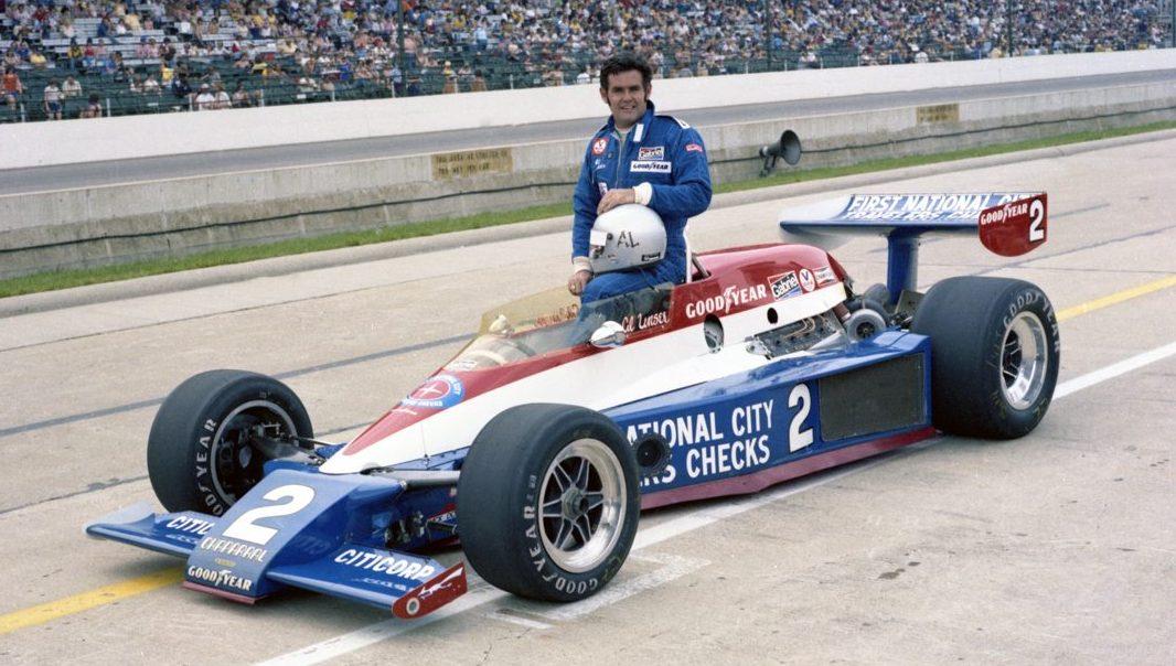 Al Unser forut for Indy 500 i 1978, som resulterte i hans tredje triumf der. Foto: Indianapolis Motor Speedway