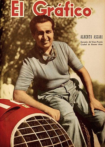Alberto Ascari ble Ferraris første verdensmester i Formel 1, og enkelte kjennere mener han fortsatt er den beste sjåføren som noensinne har kjørt for merket.