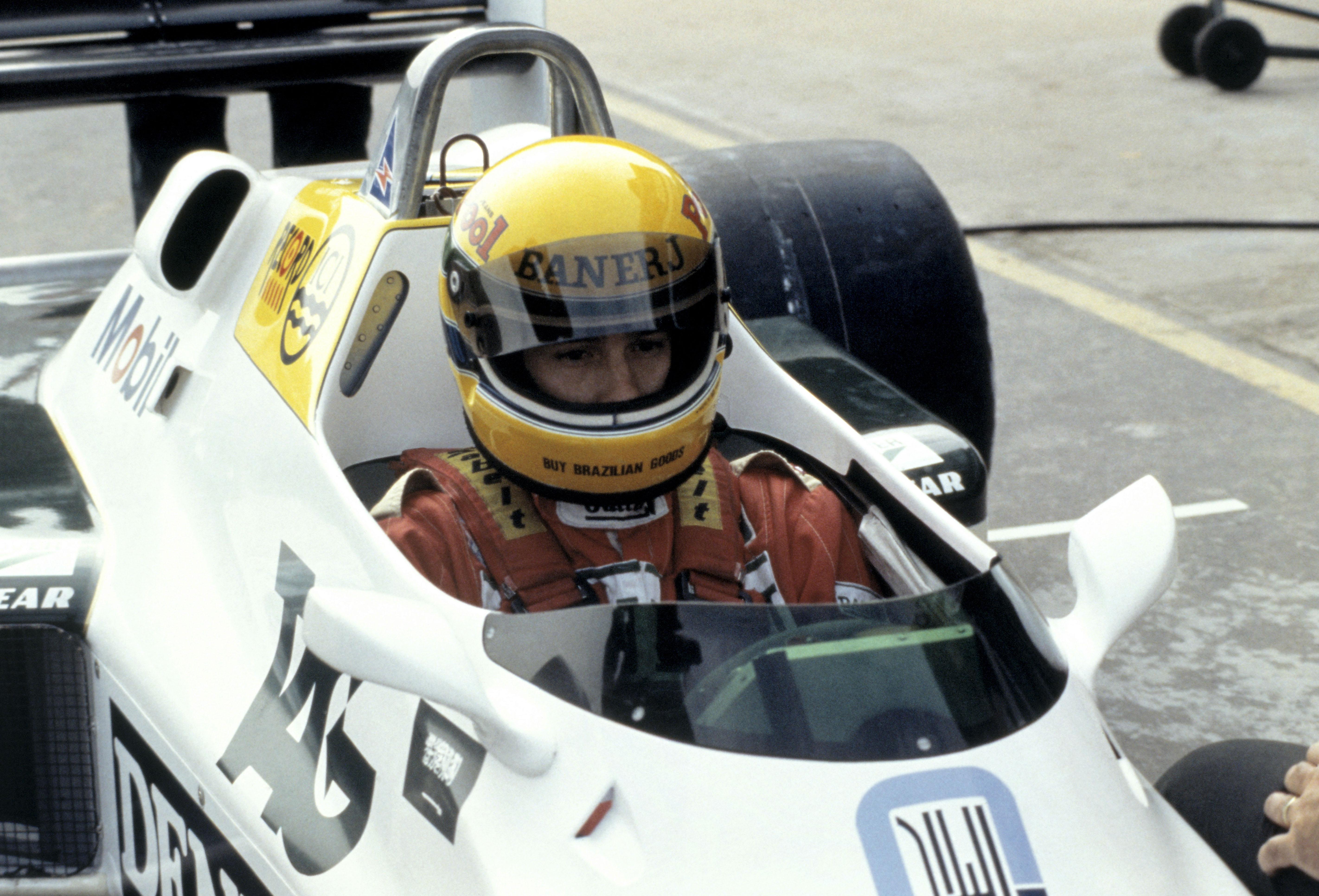 Senna fikk sin første Formel 1 test for Williams i 1983. Foto: Williams