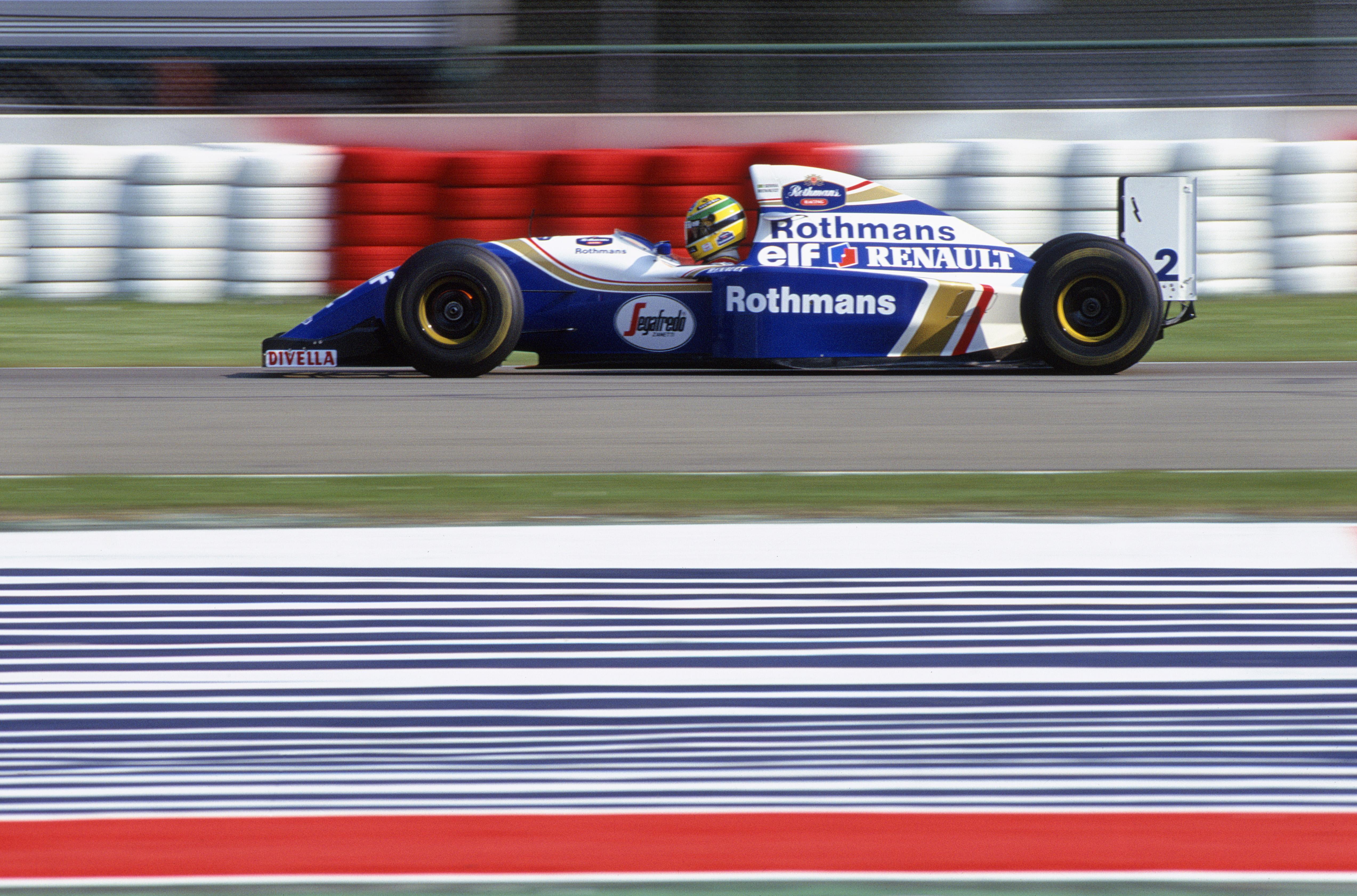 Senna 4 Senna tok Pole Position til de tre løpene han kjørte i 1994. Foto: Williams