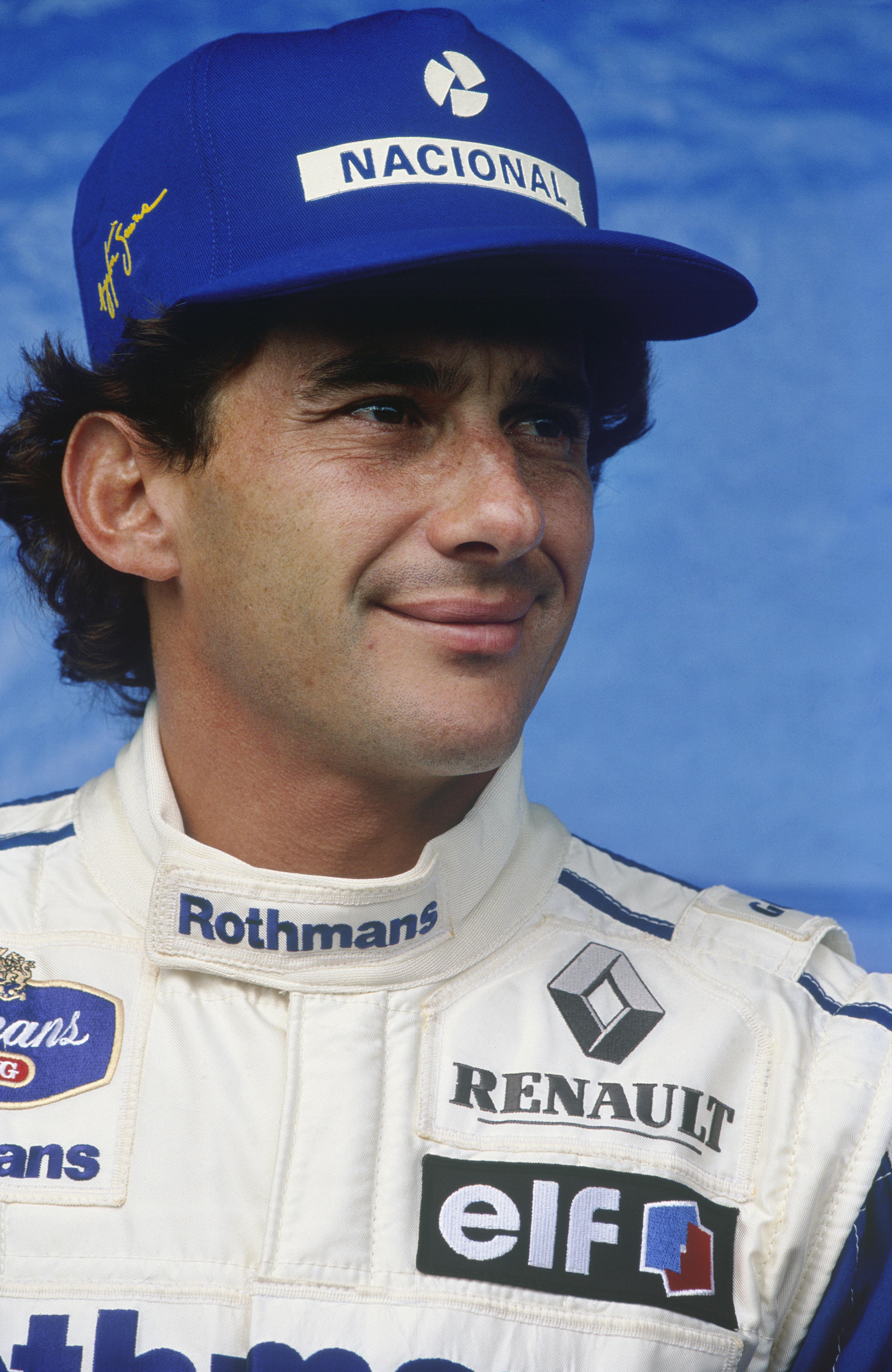 Karismatisk. Mystisk. Legendarisk. Ayrton Senna. Foto: Williams