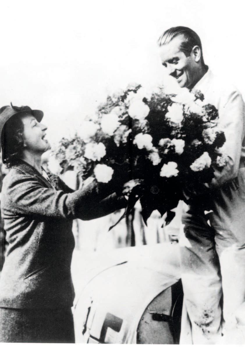 Rosemeyer var en sprudlende mann som alltid virket glad og ubekymret.