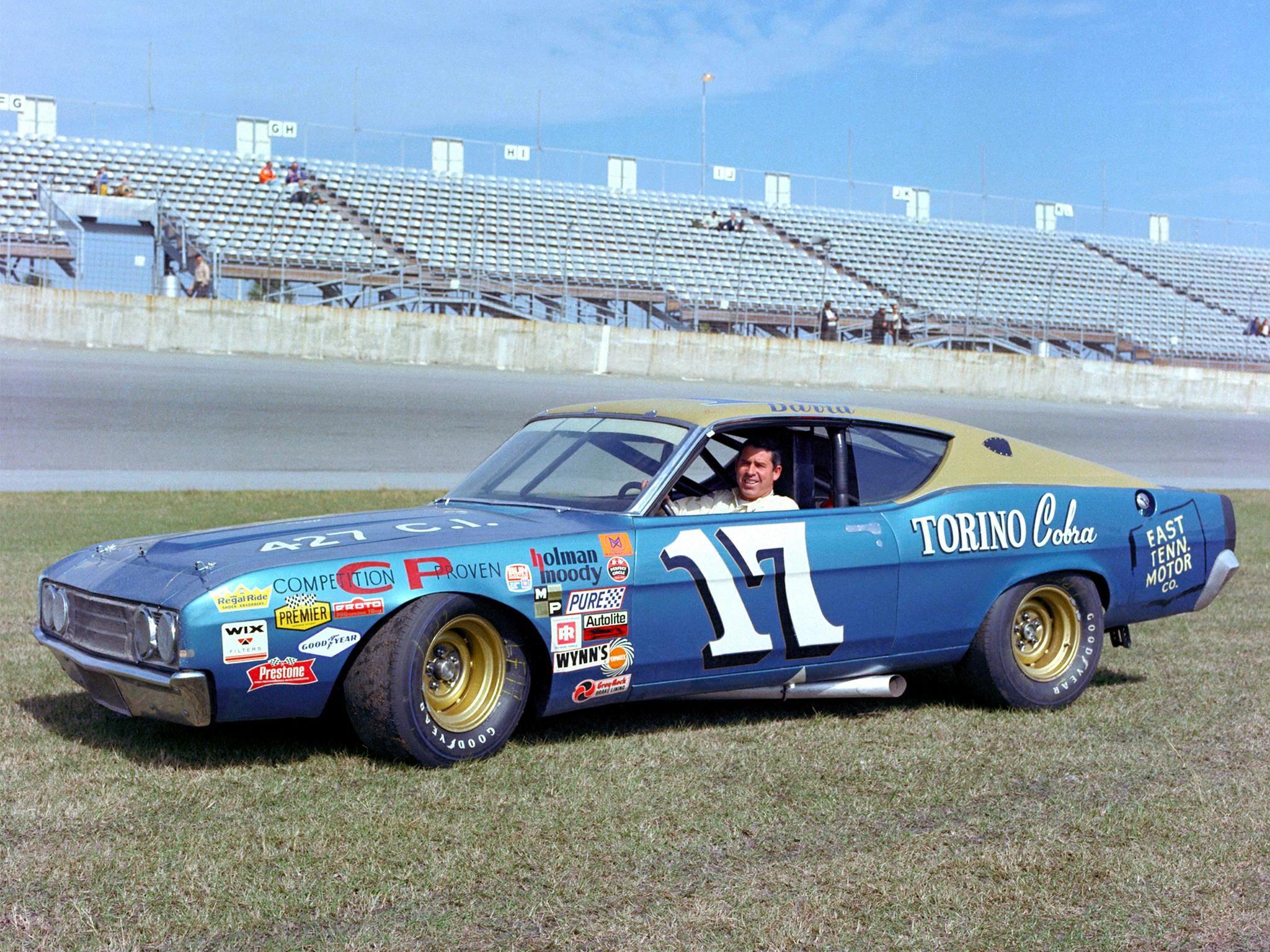 Sølvreven tok sitt tredje mesterskap i en Ford Torino i 1969.
