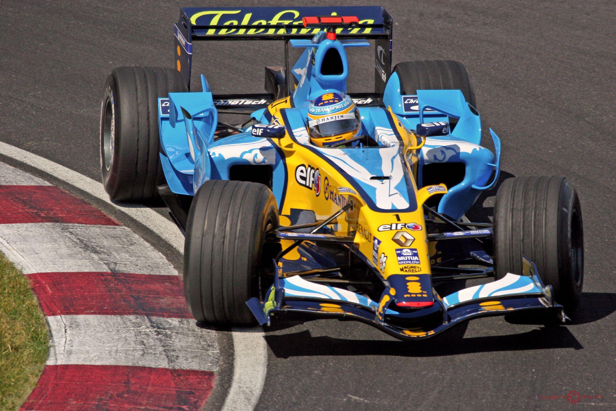 Alonso var simpelthen episk god i 2006, her fra Canada GP. Foto: Wikipedia