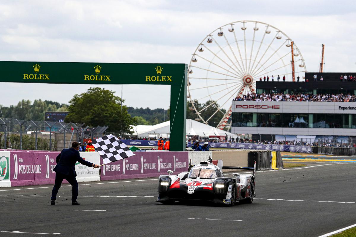 Alonso var med i vinnerbilen på Le Mans også i 2019. Foto: Toyota