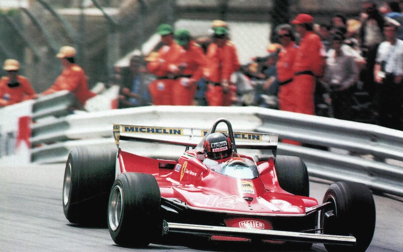 Villeneuve hadde en ekstrem kjørestil som tæret hardt på redskapen. Her fra Monaco GP i 1979. Foto: wikipedia