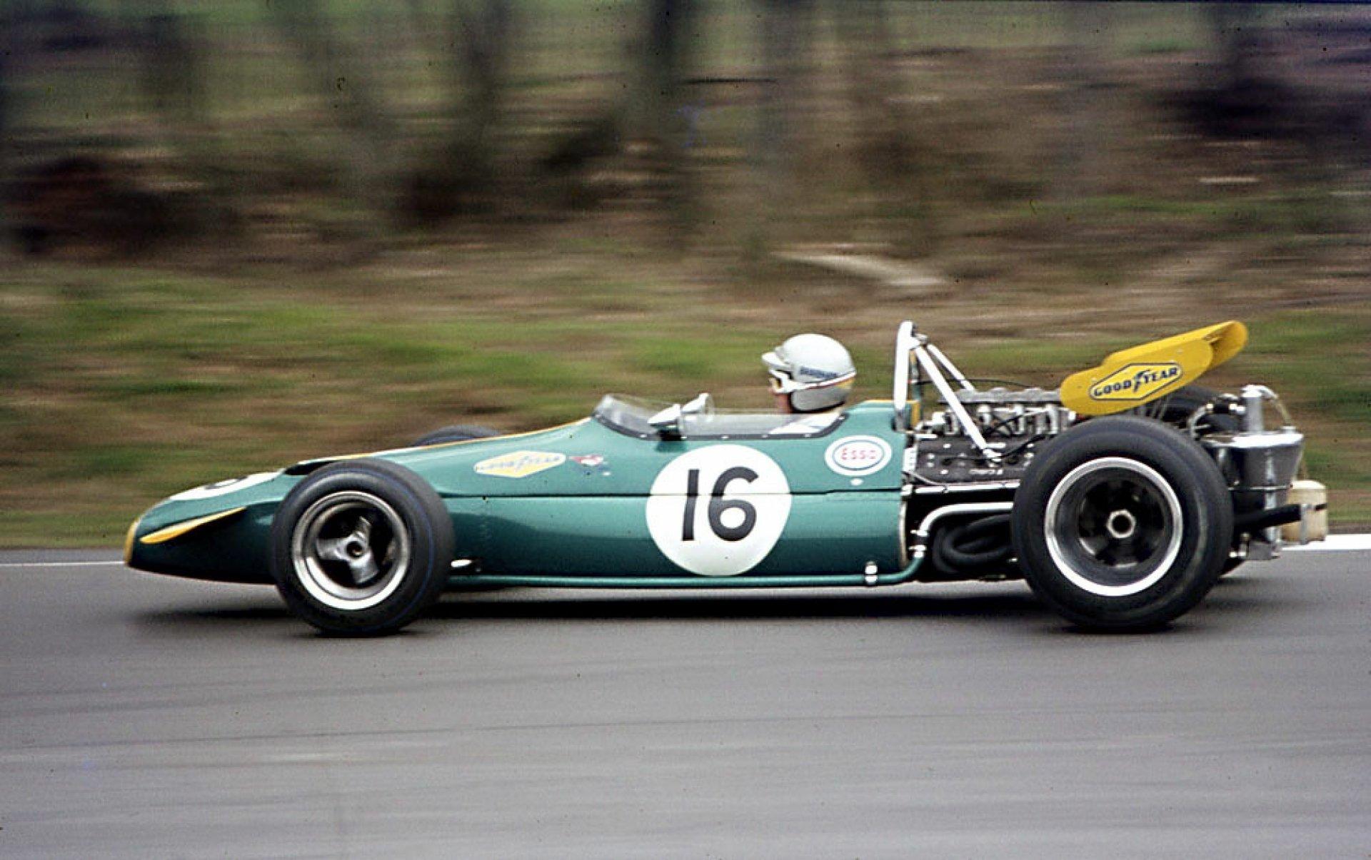 1970 ble Brabhams siste sesong, og han var mer enn konkurransedyktig.