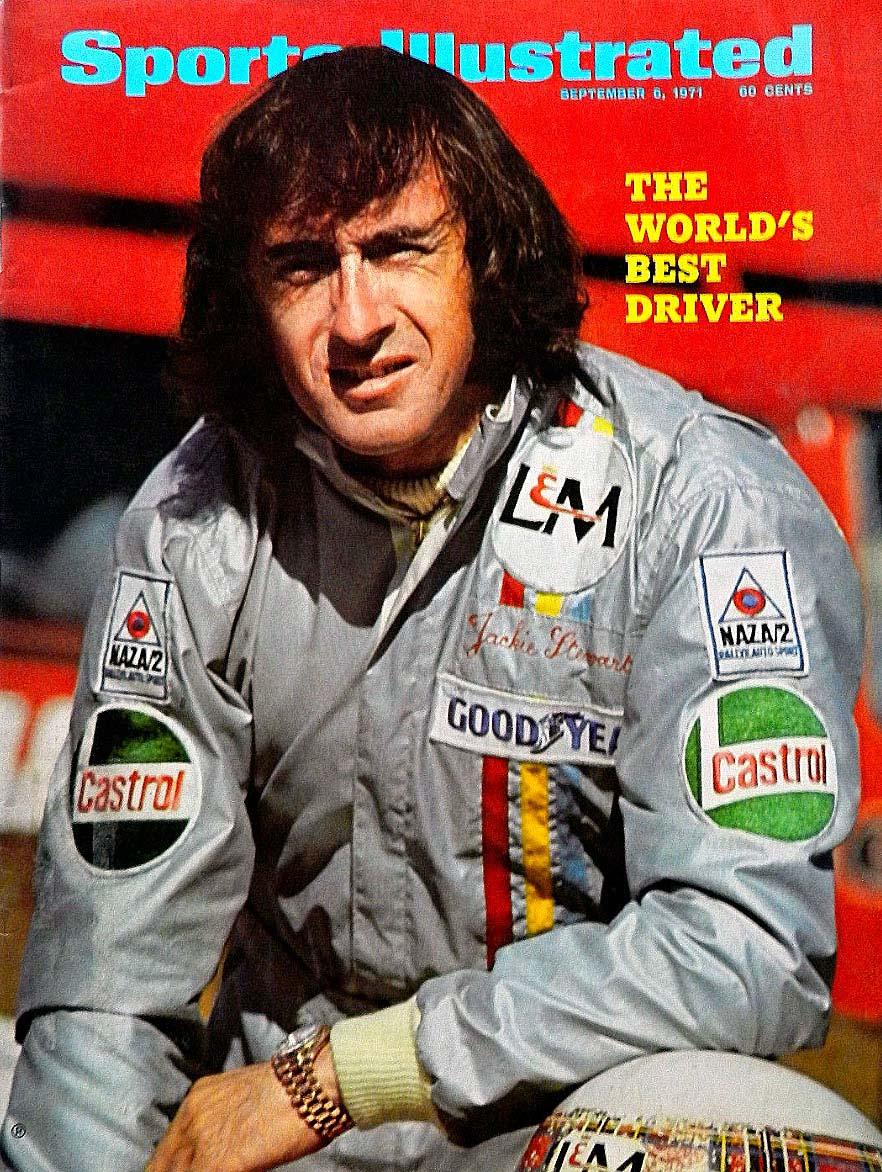 Forsiden av Sports Illustrated i september 1971 sier det som det er: «The world's best driver».