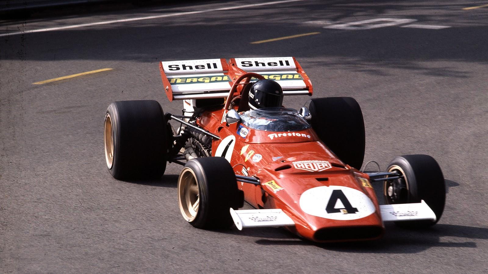 På tidlig 70-tall var Jacky Ickx stjernen i Ferraris Formel 1-team.