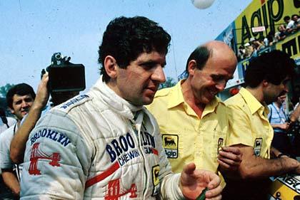 En rolig Jody på Monza i 1979, hvor han fikk sin velfortjente verdensmester-tittel.
