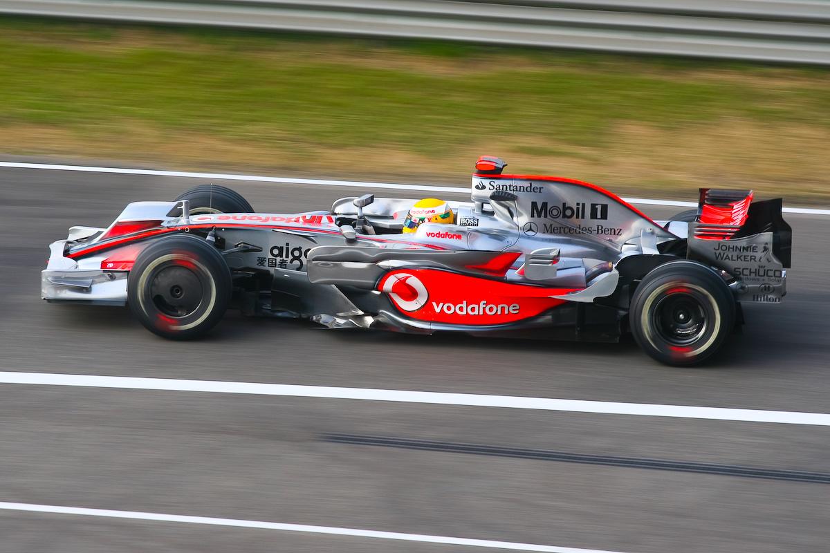 Hamilton var som oftest fantastisk i sine tidlige år for McLaren.