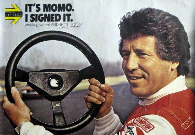 I 1981 kjørte Mario for Alfa Romeo i Formel 1. Det ble ingen suksess, selv om han fikk være frontfigur for Momo-ratt.